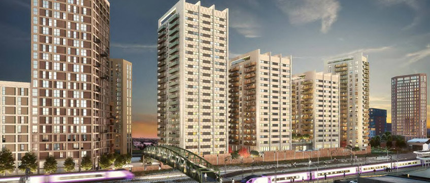 CGI of the Southall scheme