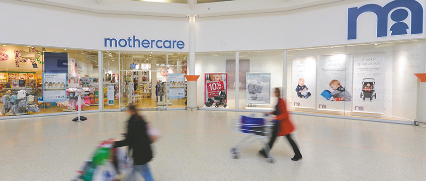 Mothercare store frontage