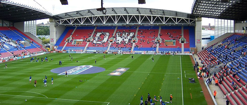 DW-Stadium - Wigan Athletic