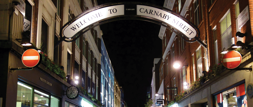 Carnaby-street © Jeff Blackler/REX/Shutterstock