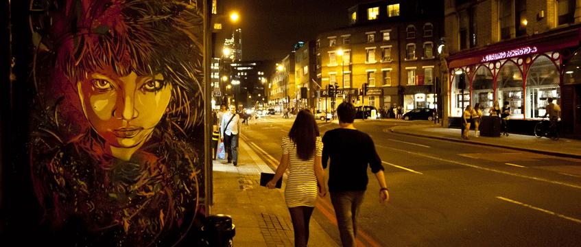 Hackney-at-night
