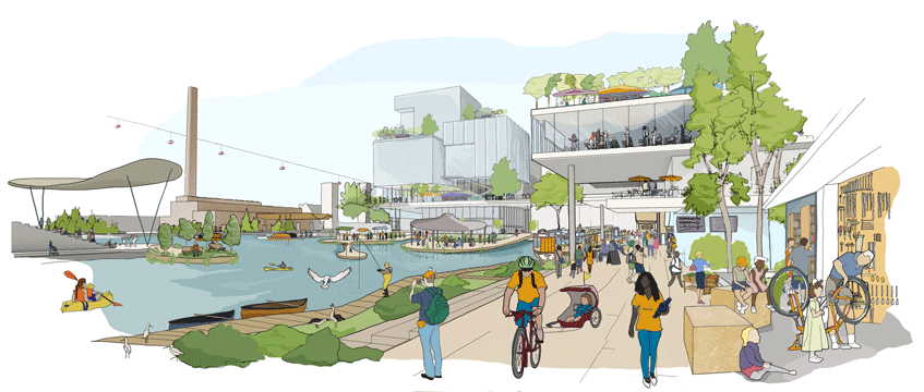 Sidewalk Labs Toronto_ public realm vision