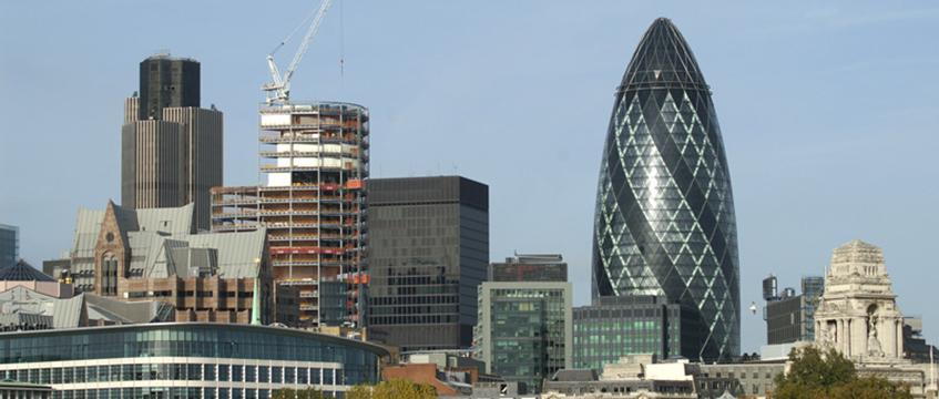 2007 London skyline