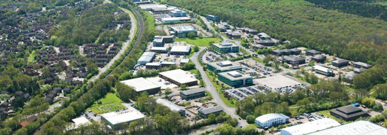 Chineham Park aerial - BNP Paribas Real Estate