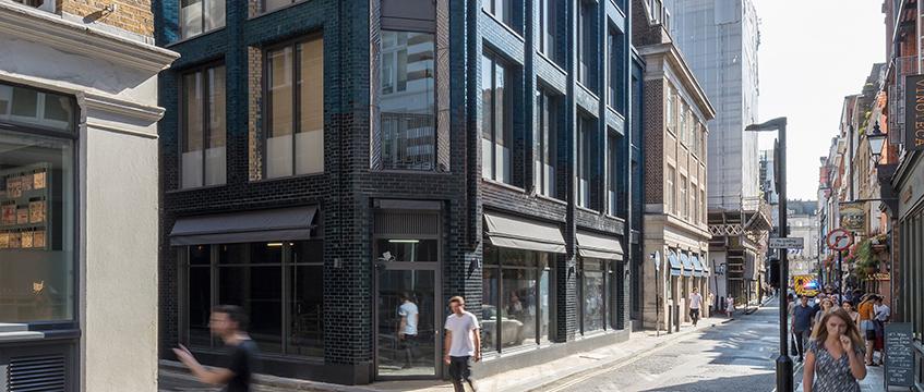Damien Hirst HQ, Beak Street, W1