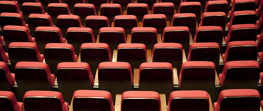 Theatre seats © Movementway / imageBROKER/REX/Shutterstock