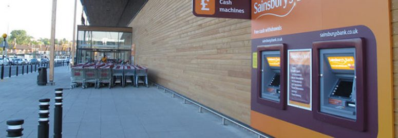 Sainsbury's cash machines