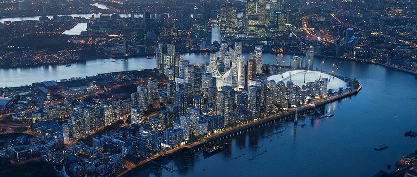 Greenwich Peninsula CGI