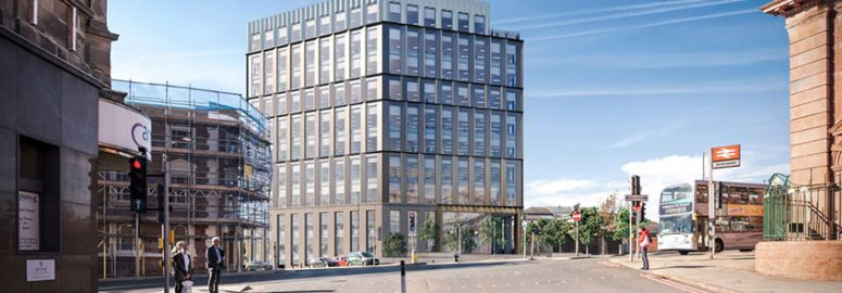 Plans submitted for office blocks at Nottingham's Unity Square