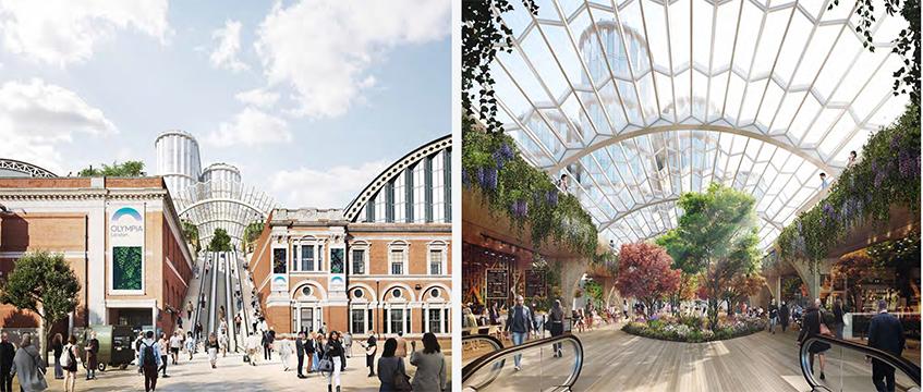 Olympia London redevelopment