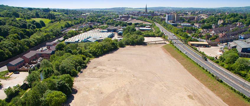 Site for The Park, Waterside, Chesterfield