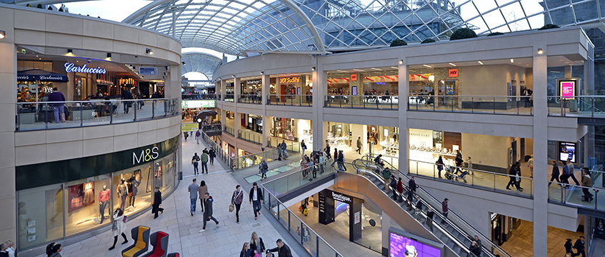 Trinity Shopping Centre Leeds