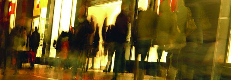 Shoppers. Photo: Karin Loding/Imagebroker/REX/Shutterstock