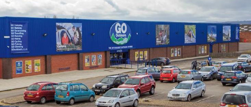 Saltney Retail Park Chester