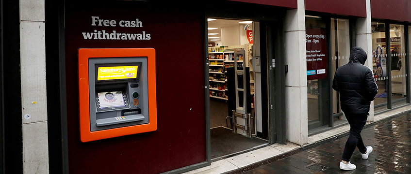 Sainsbury's store with ATM