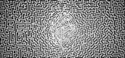 Illustration of a mind in a maze. Picture: Alamy
