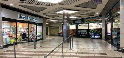 The Kirkcaldy shopping centre