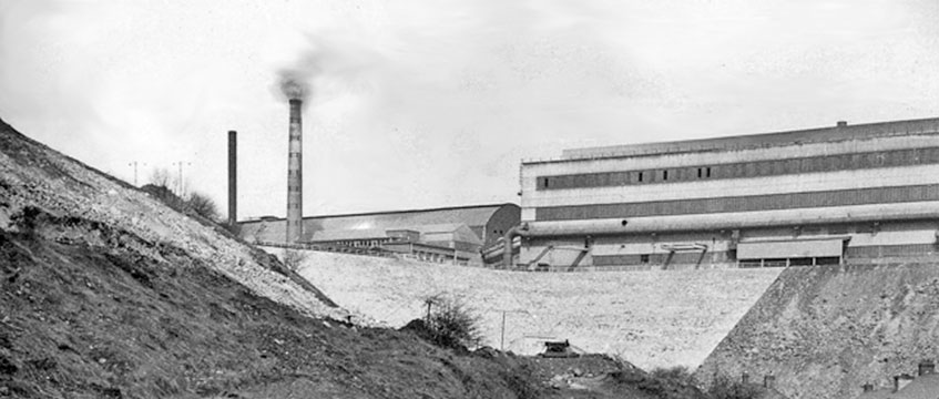 Brymbo Steelworks Wales