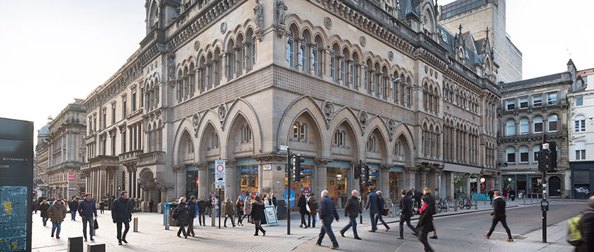Former Scottish Stock Exchange building, Glasgow