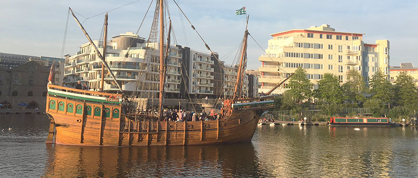 The Matthew ship in Bristol