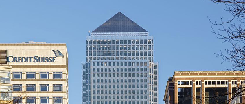 One Canada Square Canary Wharf