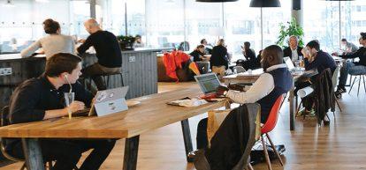 WeWork flexible working