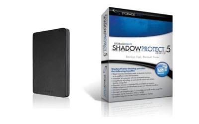 Image of Shadow Protect & USB Backup Drive Bundle