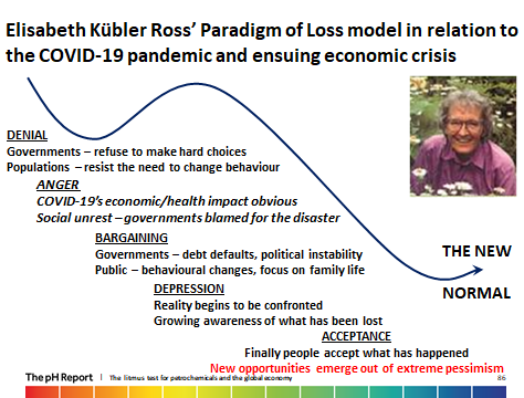 World risks moving from Denial into Anger as the Paradigm of Loss moves forward
