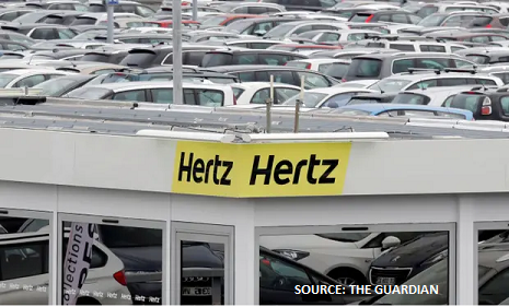 Hertz goes bankrupt as non-essential consumer demand disappears