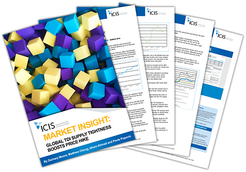 Market insight: Global toluene di-isocyanate (TDI) supply tightness