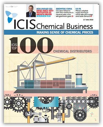 ICIS Top 100 Chemical Distributors – 2018 - ICIS Explore