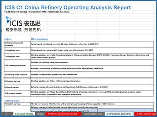 China Independent Refinery Report