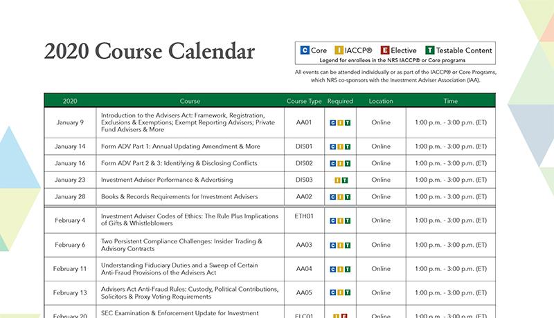 2020-Course-Calendar
