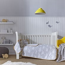 Cot bed bedding, crib and cradle bedding