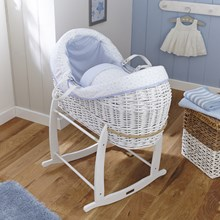Discover our stunning range of White Wicker Noah Pods®.
