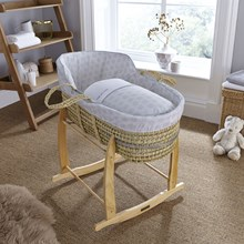 View the beautifully subtle collection of Speckles nursery bedding and baskets.