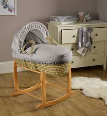 Shop our range of Palm Moses Baskets. Dressed beautifully in modern and classic dressings.