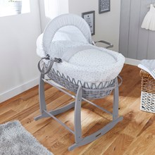 Browse our extensive range of Wicker Moses Baskets for baby's first bed.
