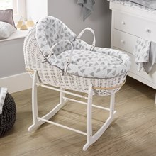 Browse the Willow Bassinet®, a Moses basket design exclusive to Clair de Lune.