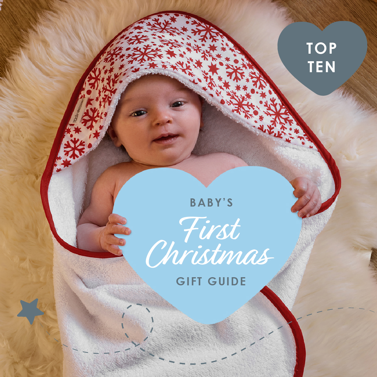 Top products to celebrate baby's first Christmas!