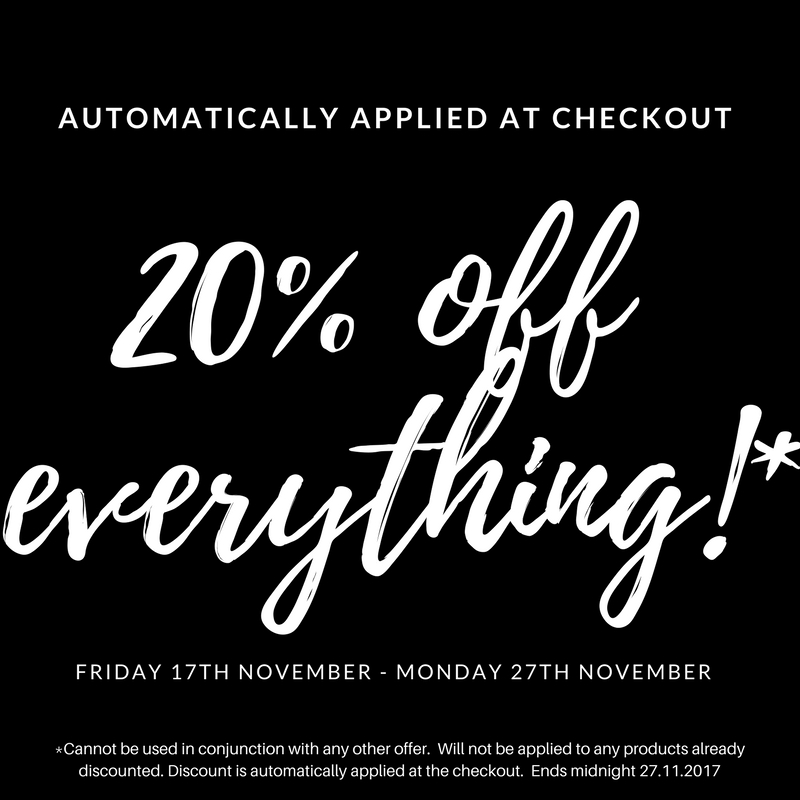 20% off the entire site