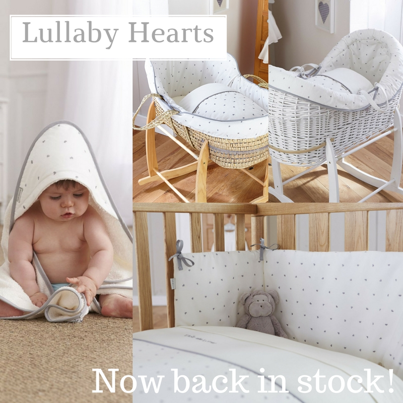 Lullaby Hearts, now back in stock!