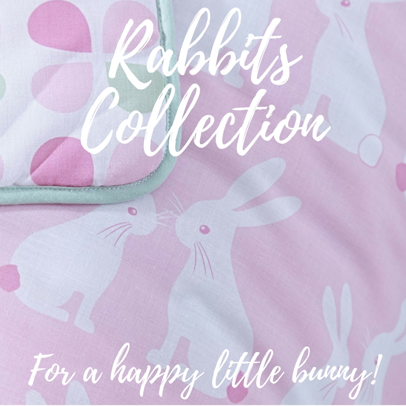 Clair de Lune Rabbits Bedding Set