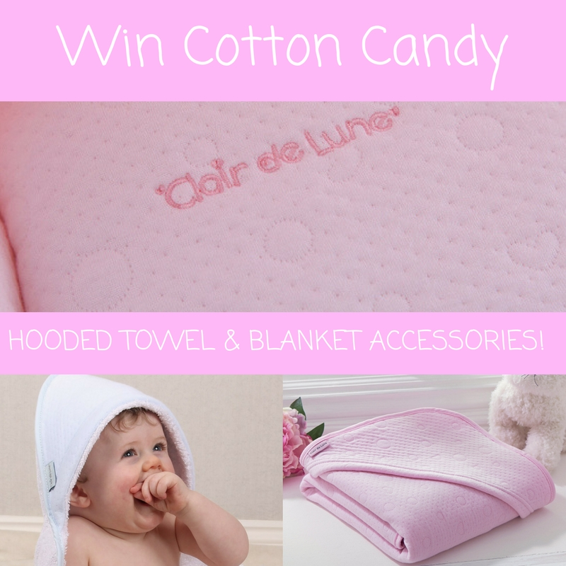 Enter to win a Cotton Candy Hooded Towel & Blanket