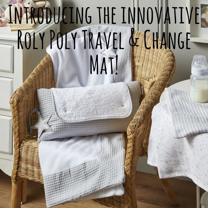 Introducing the Roly Poly Travel & Change Mat