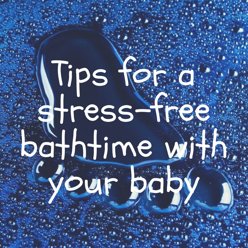 Tips for bathtime with a newborn