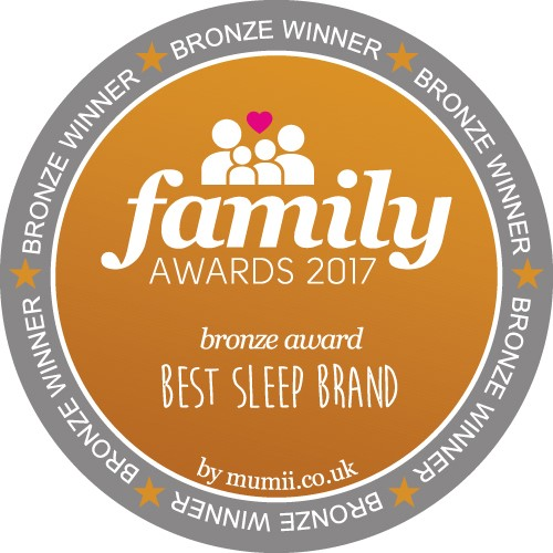 Bronze Award Winner for Best Sleep Brand