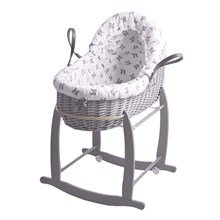 Rachel Riley Bunny Bassinet With Deluxe Stand