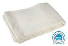 Soft Cotton Cot/Cot Bed Bunny Blanket