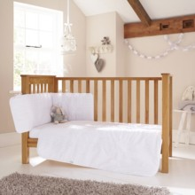Broderie Anglaise 3 Piece Cot/Cot Bed Set
